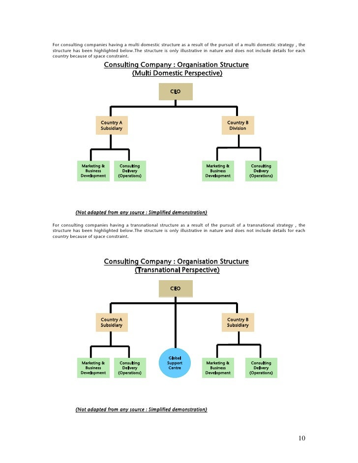 multidomestic company example