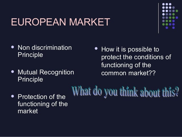 European Competition Law (divided into two parts)         Unfair competition Law Operator's Practices in the market  ...