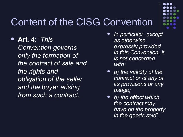 When you write a Sale of Goods Contract, you should take into account that:     You should specifie which are he duties ...