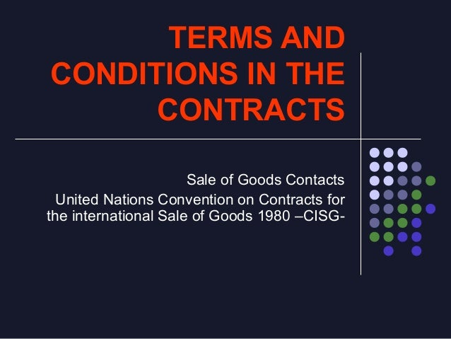 The Doctrine of the implied terms and the interpretation of Contracts Implied Terms Expressed Terms