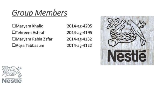 nestle International business management slides