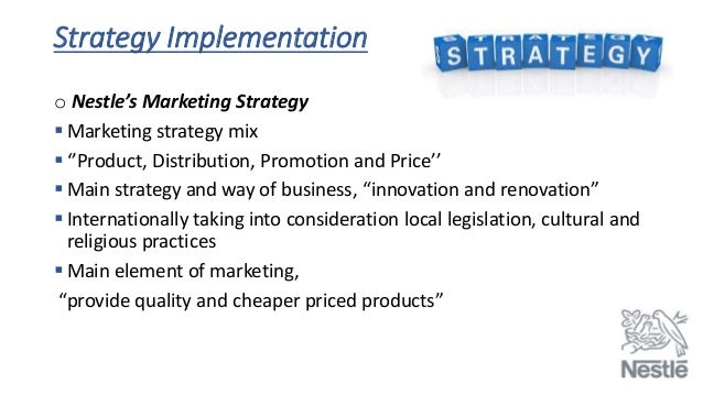 nestle International business management slides