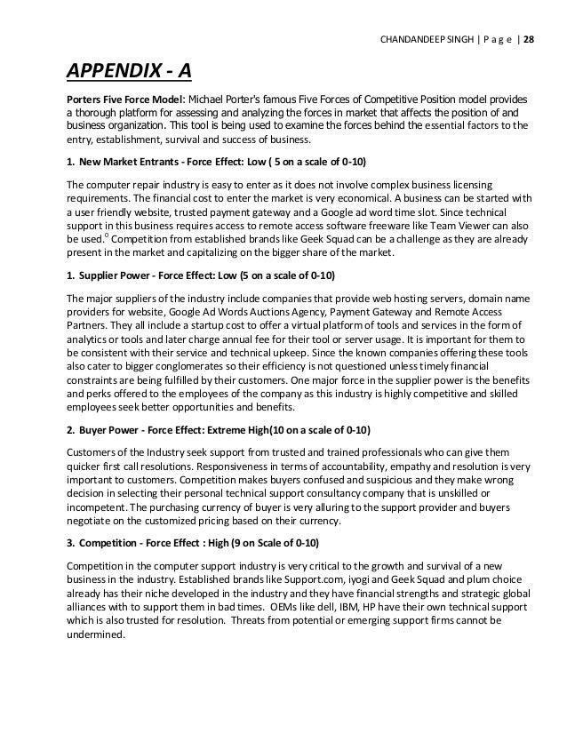 Porter's Five Forces Model   Strategy framework