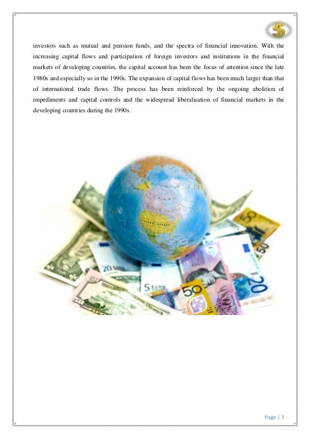 international capital movement Tax policy and international capital flows martin feldstein nber working  paper no 4851 (also reprint no r2150) issued in september 1994.