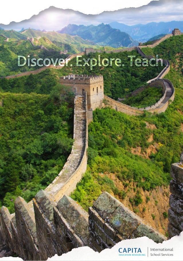 International School Services Discover. Explore. Teach.