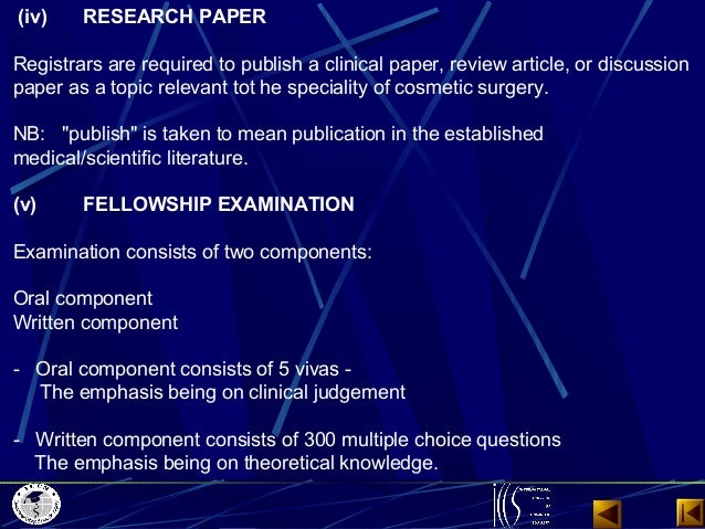 cosmetic surgery research paper outline