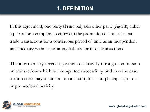 Model Agreement Www.globalnegotiator.com; 2.