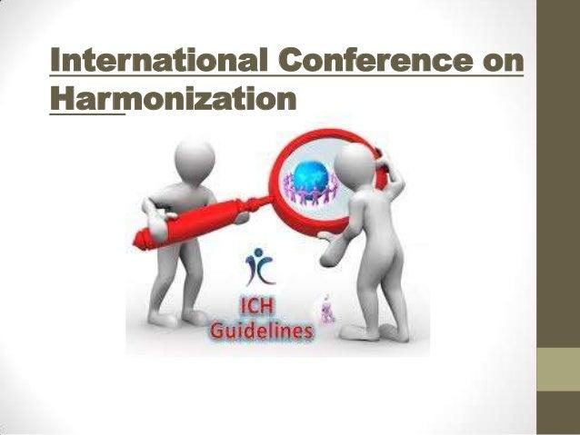 International Conference on Harmonization