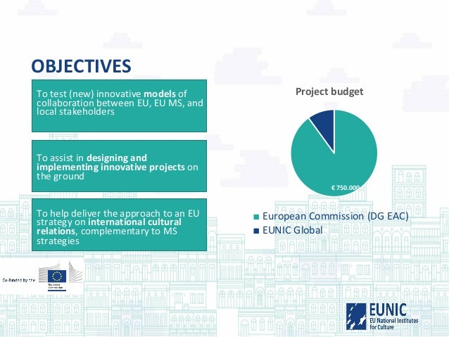 OBJECTIVES To test (new) innovative models of collaboration between EU, EU MS, and local stakeholders To assist in designi...