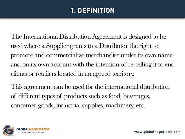 International Distributor Agreement Acurnamedia