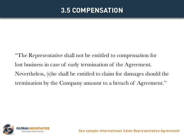 International sales representative agreement template 34 remuneration of representative see sample international sales representative agreement 9 platinumwayz