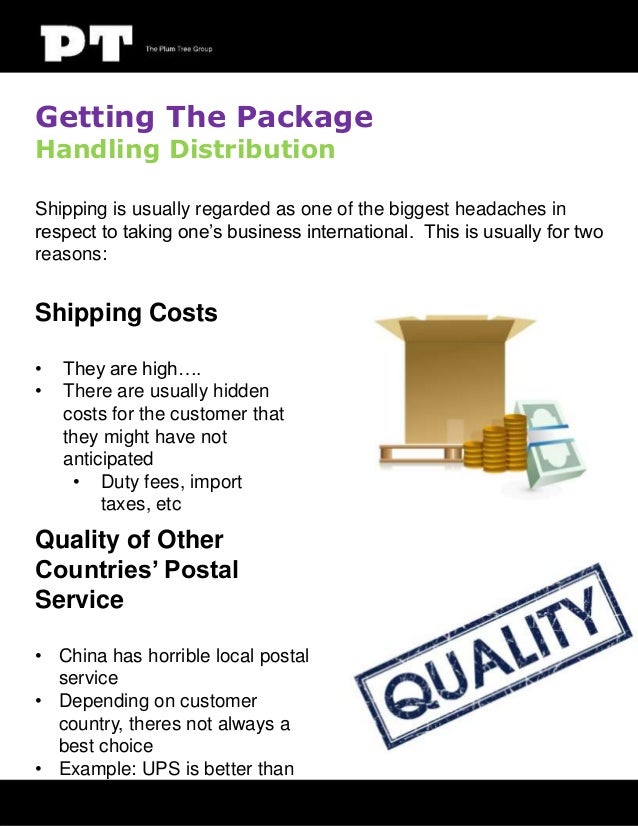 Getting The Package Handling Distribution  Shipping is usually regarded as one of the biggest headaches in respect to taki...