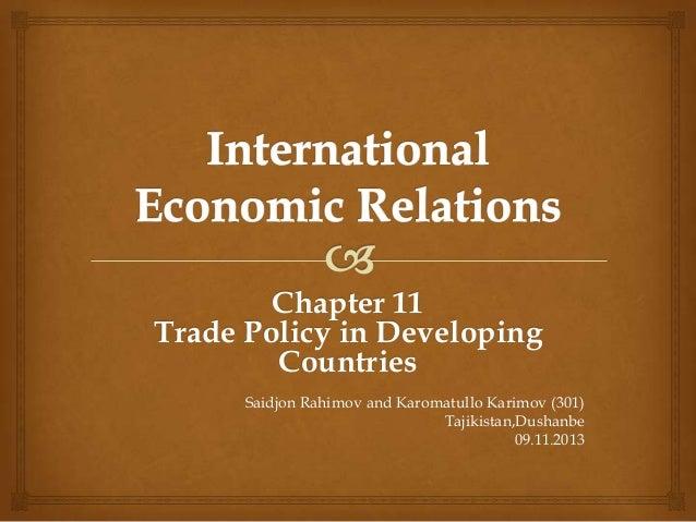 Developing world in international relations