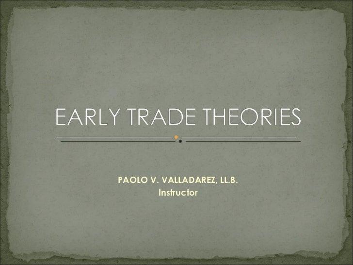 PAOLO V. VALLADAREZ, LL.B. Instructor