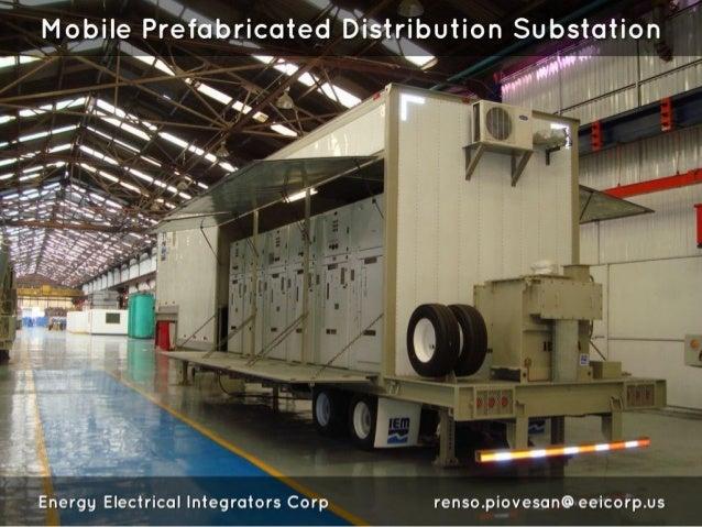 "Mobile Prefabricated Distribution Substation     'E1' / /:: ,rr. r"" E ' vbrt' fixn' '7 W"" ' '  '3 fl I =   fl  ' 2  l : - M §..."