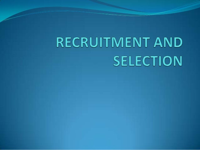 """Definition and Meaning of Recruitment  According to Edwin B. Flippo,"""" Recruitment is the   process of searching the candi..."""