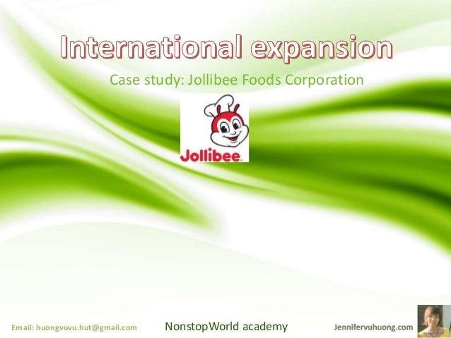 international expansion jollibee The company quickly deployed netsuite oneworld first in vietnam, where its flexibility and ease of implementation were solid proof that netsuite could accommodate jollibee's rapid international expansion.