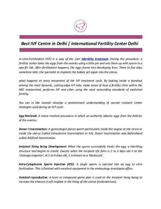 International Fertility Center Delhi | Best IVF Centre in Delhi