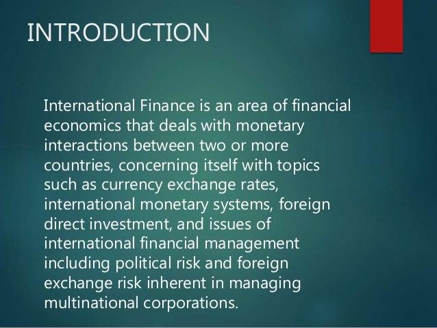 financial economics an introduction