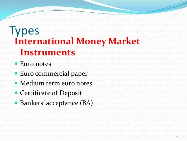 medium term notes vs commercial paper An easy overview of medium term notes an easy overview of medium term notes skip navigation commercial paper, certificates of deposit, commercial.