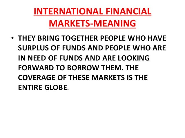 international financial markets and institutions pdf