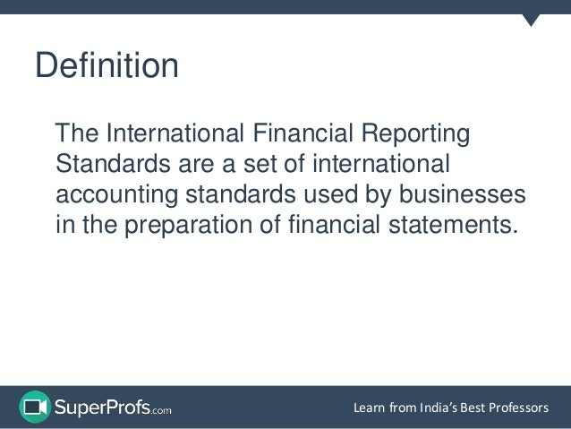 international financial reporting standards impact Volume-3, issue-01, january 2016 issn: 2349-7637 (online) research hub – international multidisciplinary research journal (rhimrj) research paper.
