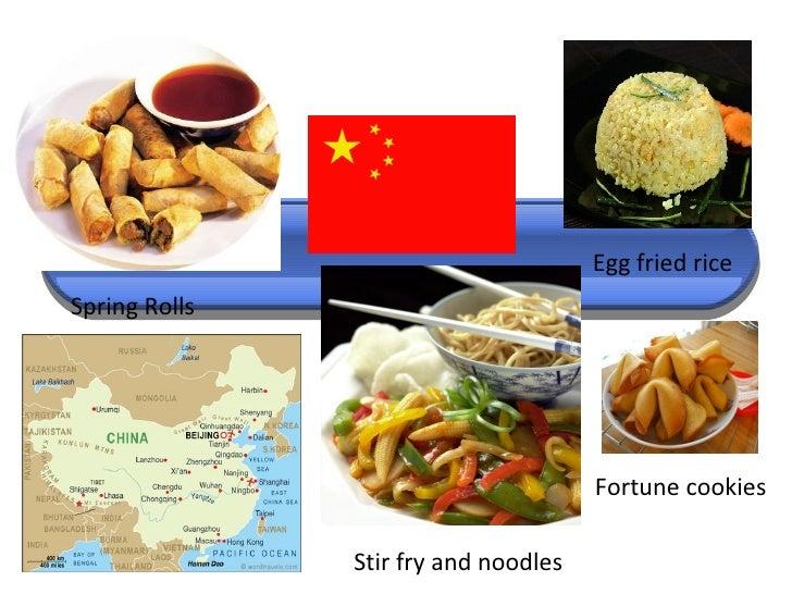 International Foods Starter