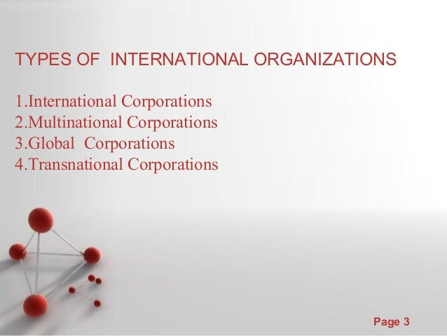 spatial organization of transnational corporations Globalization of the food industry: transnational food corporations  entire organization, their research has inspired me to actively pursue answers to my own.