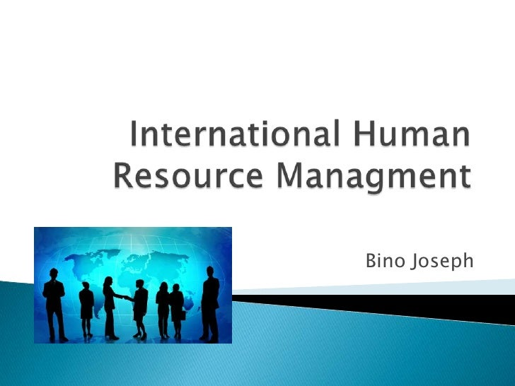 international human resources management essay