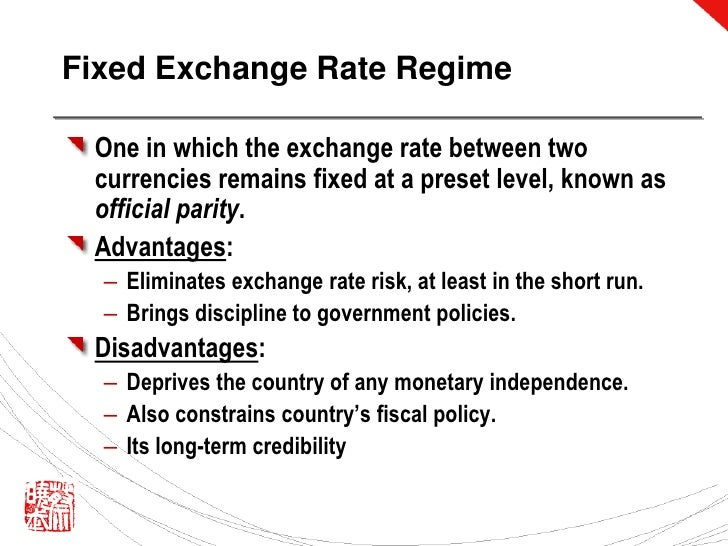 the fiscal mismanagement and fixed exchange Policy effects with fixed exchange rates: overview overview this section uses the aa-dd model to describe the effects of fiscal, monetary and exchange rate policy under a system of fixed.