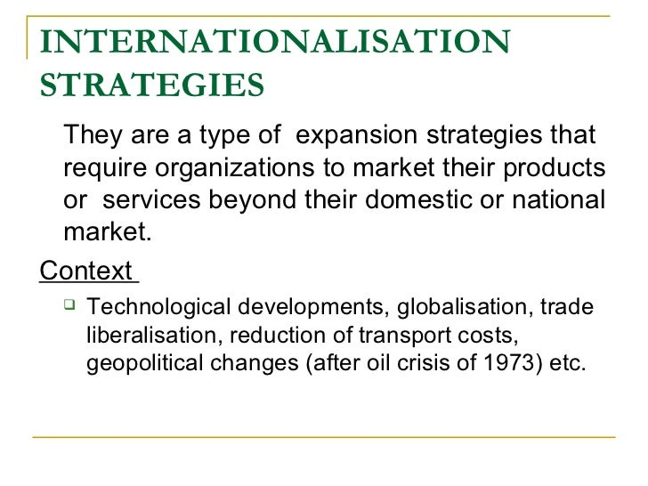 internationalization strategy pdf