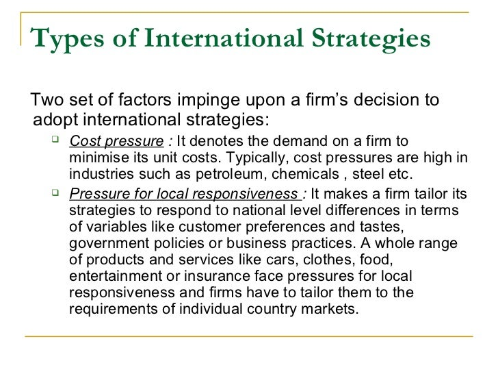 transnational strategy example
