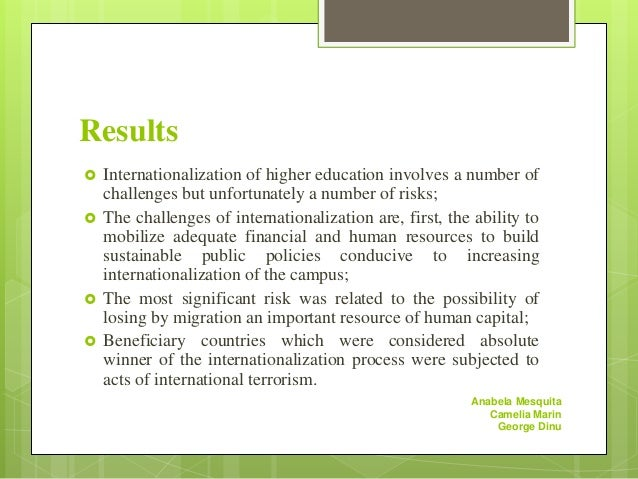 literature review on internationalisation of higher education Asian social science september, 2009 71 2 literature review internationalisation in higher education is a result of globalisation of the 21st century (albatch & teichler, 2001.