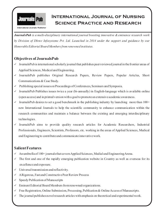 Guide for authors - International Journal of Nursing ...