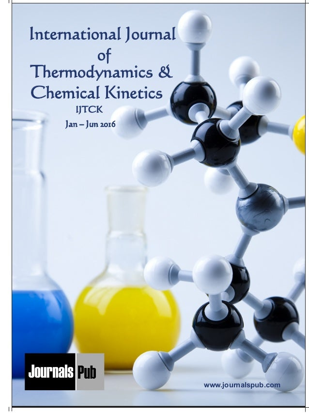 Thermodynamic research paper