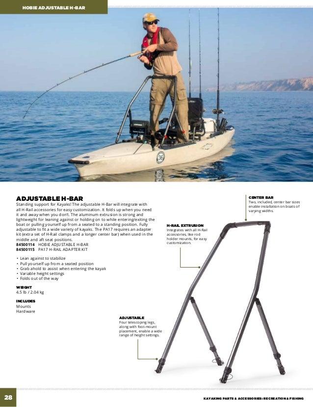2 x BOAT FISHING ROD HOLDERS Fit Side Rail FREE POST