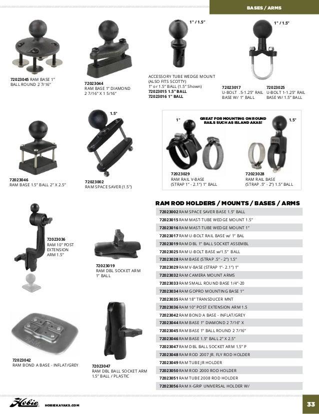 Hobie Black Foam Grip 11″ x .5″