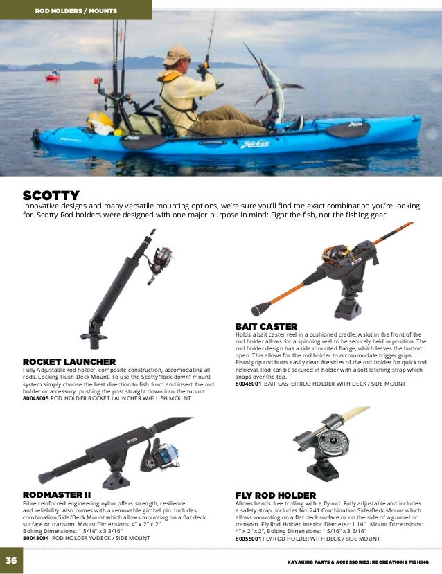 Accesorios Hobie Kayak 2016