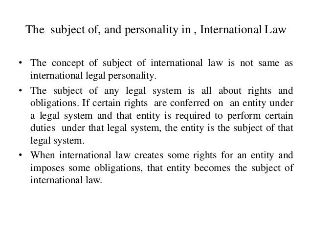 the relationship between international law and affairs