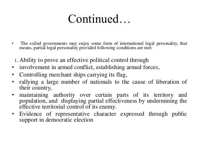 international law and municipal relationship