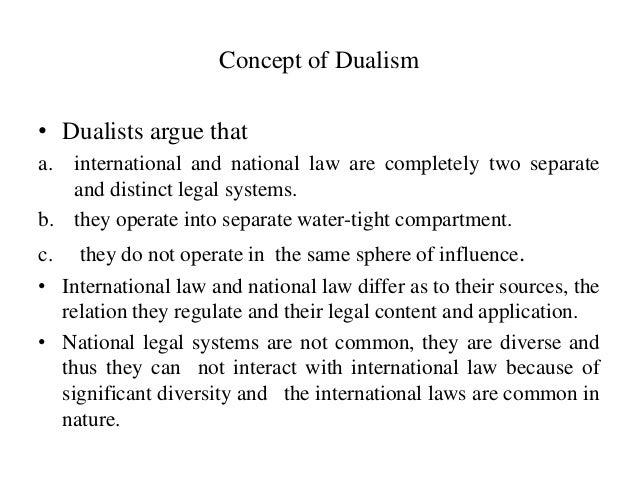 international law and municipal relationship tips