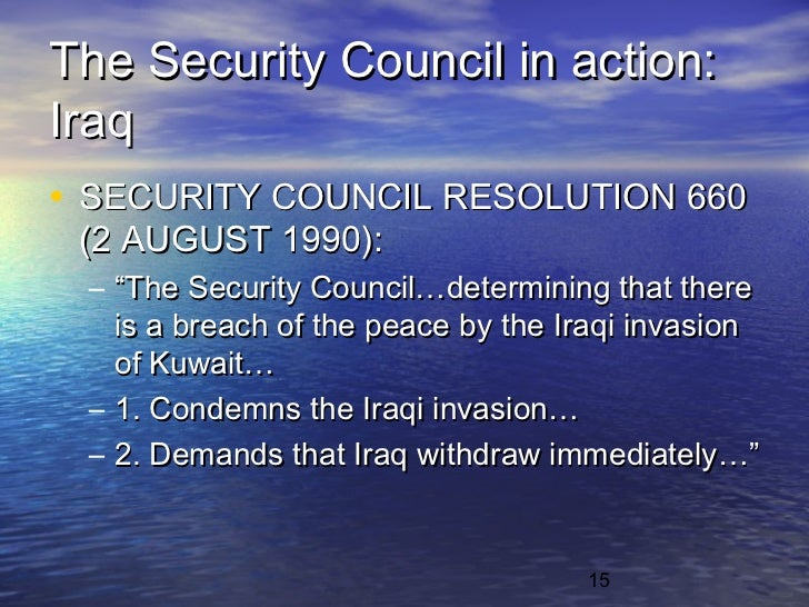 the three resolutions toward iraq made by security council Adopted by the security council at its 8285th meeting, on 14 june 2018   recalling all its previous relevant resolutions on iraq, in particular 1500 (2003),  1546  to report to the council every three months on the progress made  towards the.