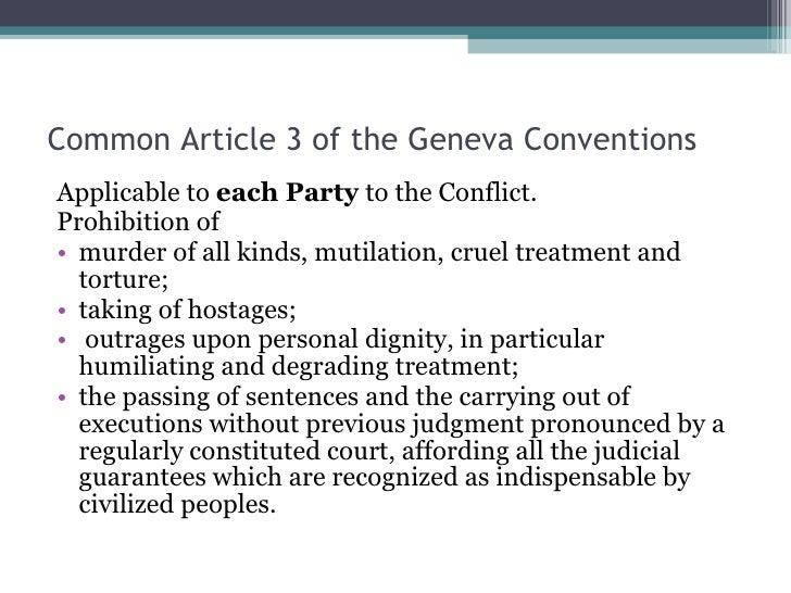 common write-up 3 geneva conventions