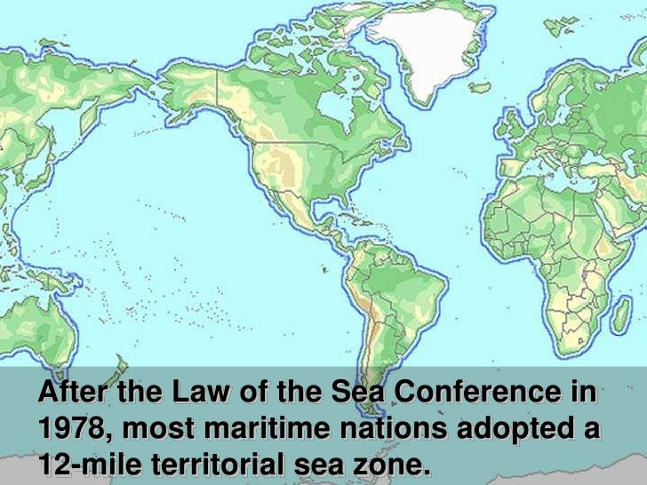 International law of the sea for 13 fishing concept a3