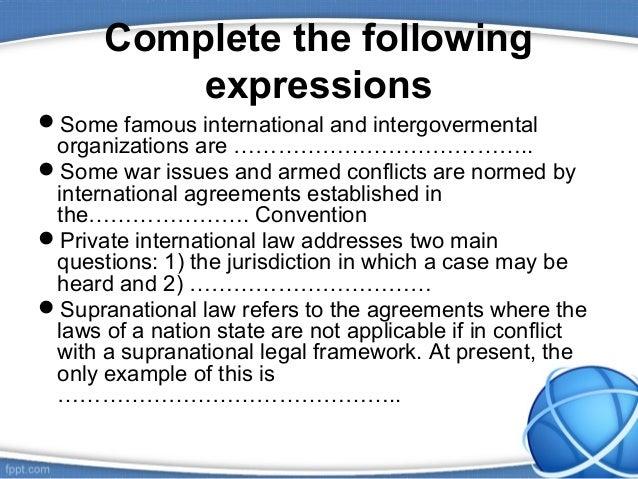 International law revision ppt Slide 3