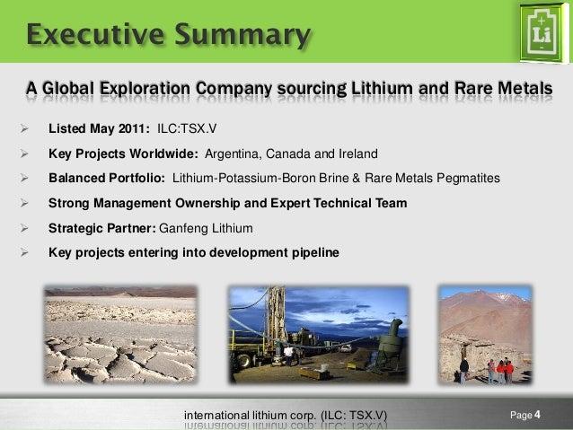 International Lithium Presentation February 2015