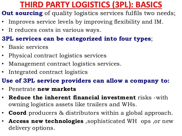 logistics basics Many factors impact the success or failure of a clinical trial and there are many  unique logistics challenges of an autologous cell based therapy.