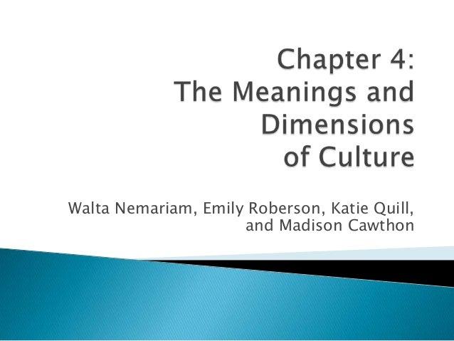 Walta Nemariam, Emily Roberson, Katie Quill,                     and Madison Cawthon