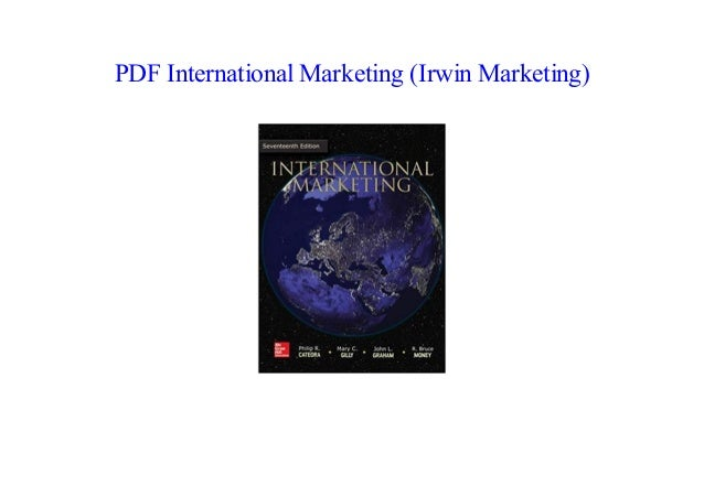 international marketing 17th edition mcgraw hill pdf