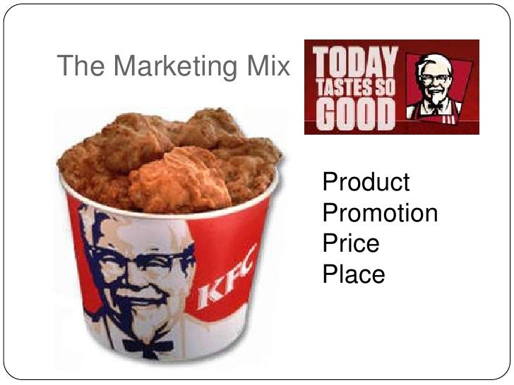 KFC Marketing Mix